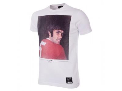 George Best tshirt - Old Trafford T-Shirt
