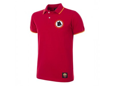 AS Roma Polo Trøje Retro