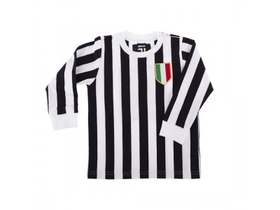 Juventus 'My First Football Shirt' t-shirt Lange Ærmer  - børn