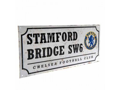 Chelsea FC Retro Street Sign