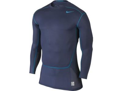Hypercool Max kompressions trøje L/Æ - marineblå