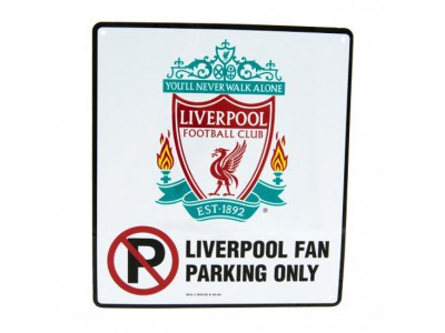 Liverpool FC skilt ingen parketing - No Parking Sign