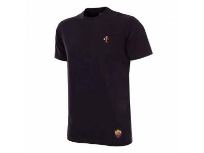 AS Roma Pixel T-Shirt i sort - fra Copa