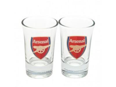 Arsenal shot glas - 2 Pack Shot Glass Set