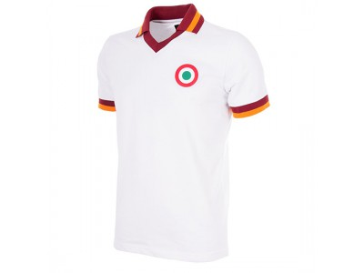 AS Roma Ude 1980-81 Retro Fodbold Trøje
