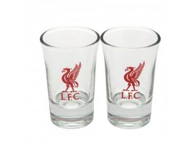 Liverpool FC shot glas 2 styks - 2pk Shot Glass Set