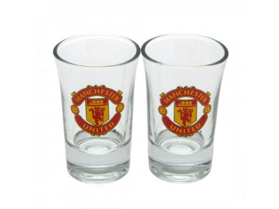 Manchester United shot glas - 2 Pack Shot Glass Set