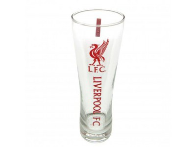 Liverpool FC ølglas højt - Tall Beer Glass