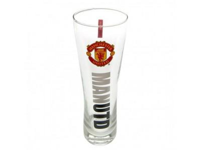Manchester United ølglas højt