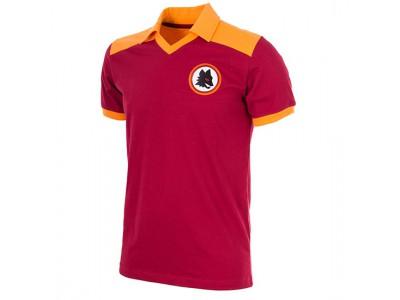 AS Roma 1980 Retro Fodboldtrøje
