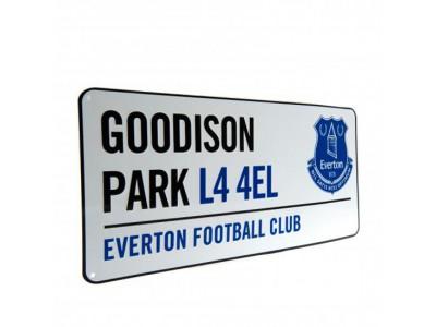 Everton skilt - EFC Street Sign