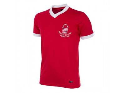 Nottingham Forest 1980 European Cup Finale retro trøje