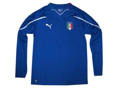 Italien hjemme trøje langærmet VM 2010