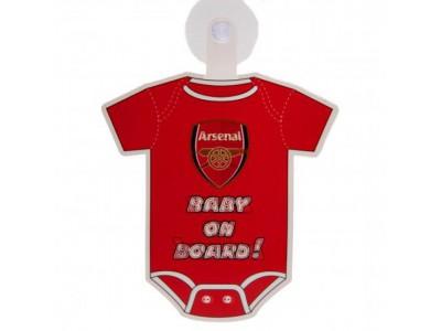 Arsenal skilt - AFC Baby On Board Sign