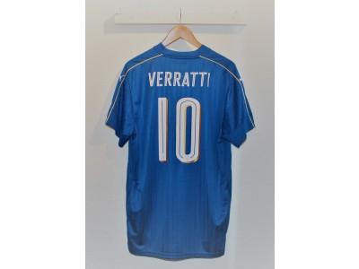 Italien hjemme trøje 2016 - Verratti 10