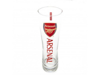 Arsenal højt ølglas - Tall Beer Glass