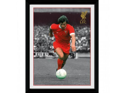 Liverpool FC billede - Picture Keegan 16 x 12 inches