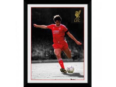 Liverpool FC billede - Picture Hansen 16 x 12 inches