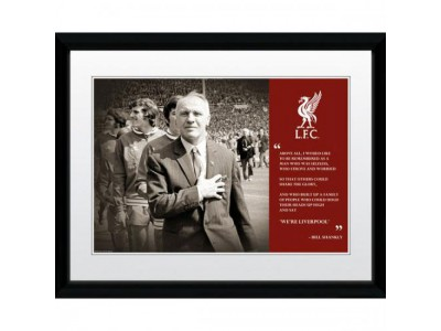 Liverpool FC billede - Picture Shankly 16 x 12