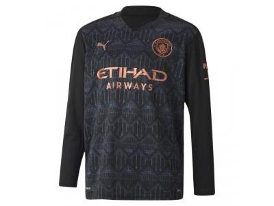 Manchester City ude trøje L/Æ 2020/21 - børn