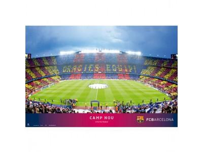 FC Barcelona plakat stadion - Poster Stadium 34