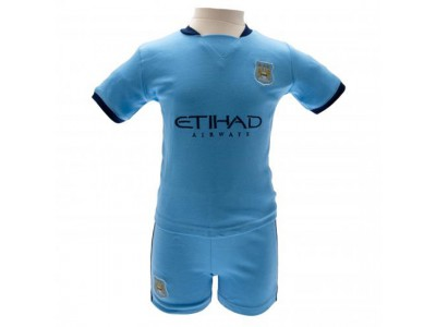 Manchester City trøje og shorts sæt - Shirt & Short Set 9/12 Months