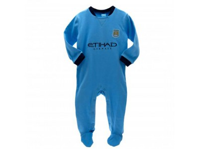 Manchester City sovesæt - Sleepsuit 9/12 Months PL
