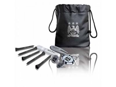 Manchester City net pose - Tote Bag Golf Gift Set