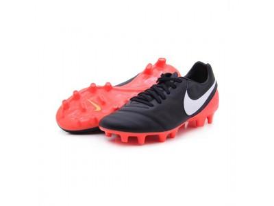 Tiempo Mystic V FG fodboldstøvler - sort - orange