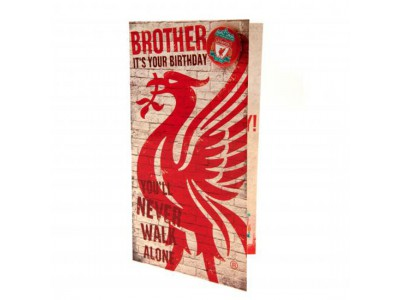 Liverpool fødselsdagskort bror - Birthday Card Brother