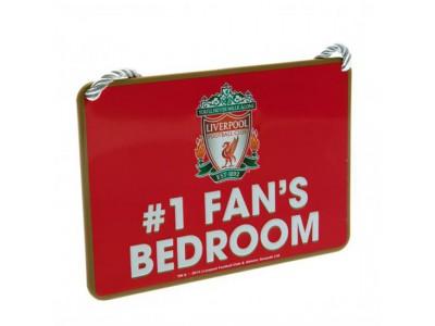 Liverpool FC skilt soveværelse - Bedroom Sign No1 Fan