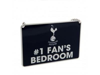 Tottenham Hotspur soveværelses skilt - Bedroom Sign No1 Fan