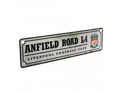 Liverpool FC vindue skilt - Retro Window Sign