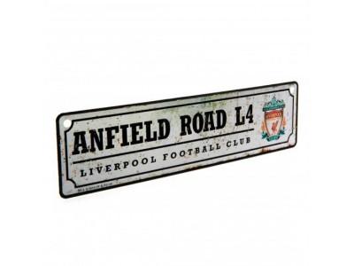 Liverpool FC vindue skilt - Retro Window Sign