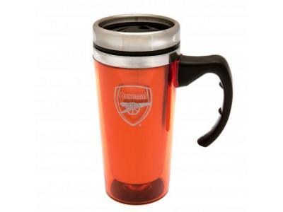 Arsenal to go krus - Aluminium Travel Mug