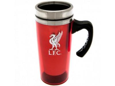 Liverpool krus - Aluminium Travel Mug