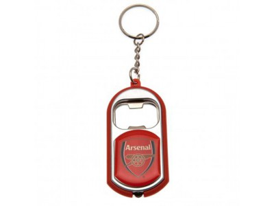 Arsenal nøglering - AFC Key Ring Torch Bottle Opener