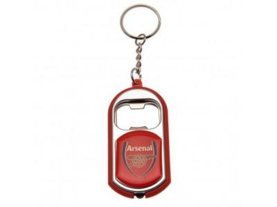 Arsenal nøglering - AFC Key Ring Torch Bottle Opener