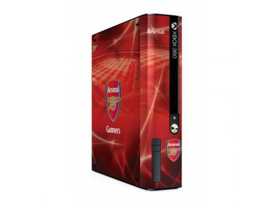 Arsenal - Xbox 360 E GO Console Skin
