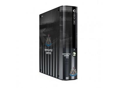 Newcastle United skin - NUFC Xbox 360 E GO Console Skin