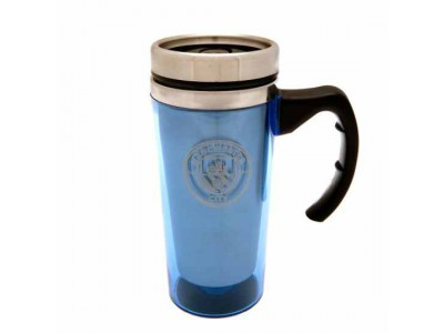 Manchester City krus - Aluminium Travel Mug