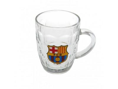 FC Barcelona ølkrus - Glass Tankard