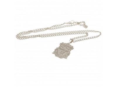 Liverpool FC halskæde med emblem - Silver Plated Pendant & Chain