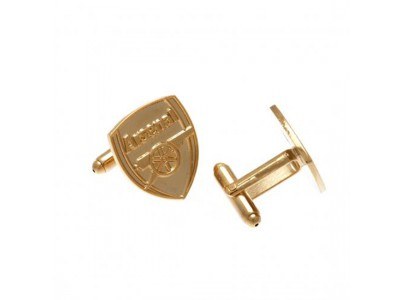 Arsenal manchetknapper - Gold Plated Cufflinks