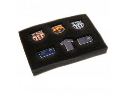 FC Barcelona 6 dele sæt - 6 Piece Badge Set