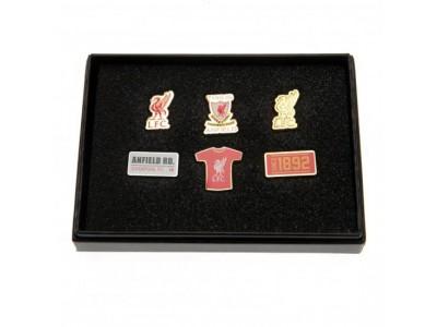Liverpool FC 6 styk Badge Sæt