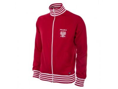 Polen 1980 retro fodbold jakke