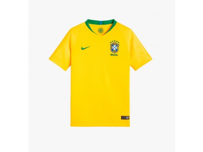Brasilien hjemme trøje VM 2018 - børn