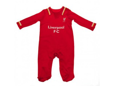 Liverpool sovedragt - LFC Sleepsuit 12/18 Months RW