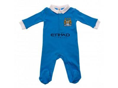 Manchester City sovesæt - Sleepsuit 6/9 Months WT